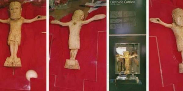 """Replica  """"Cristo del Carrizo"""". León museum"""