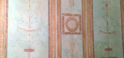 """Mural on set. TVE """" Isabel"""""""