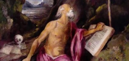 """Recreation Tiziano's picture TVE """"Carlos, rey emperador"""""""